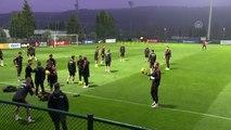 A Milli Futbol Takımı, İzlanda maçı hazırlıklarını sürdürdü