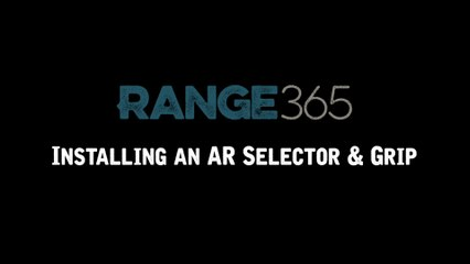 How to Install an AR-15 Safety Selector and Pistol Grip