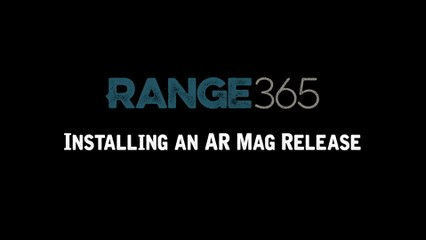 How to Install a Magazine Release on an AR-15