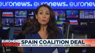 Socialists and Podemos reach coalition deal in bid to form Spain's next government