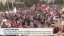 Chilean protest movement wants basic rights enshrined in new constitution