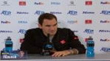 """Masters - Federer : """"Je peux mieux jouer, c'est sûr"""""""