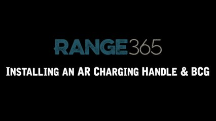 How to Install an AR-15 BCG and Charging Handle