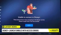 Disney Plus Hit With Technical Issues on Launch Day