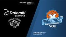 Dolomiti Energia Trento - Buducnost VOLI Podgorica Highlights | 7DAYS EuroCup, RS Round 7