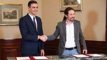 تفاؤل في إسبانيا بعد الإعلان عن اتفاق مبدئي لتشكيل حكومة ائتلافية
