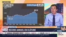 Les marchés parisiens: record annuel en clôture - 12/11