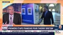 Le + de l'info: première étape franchie pour Thierry Breton - 12/11
