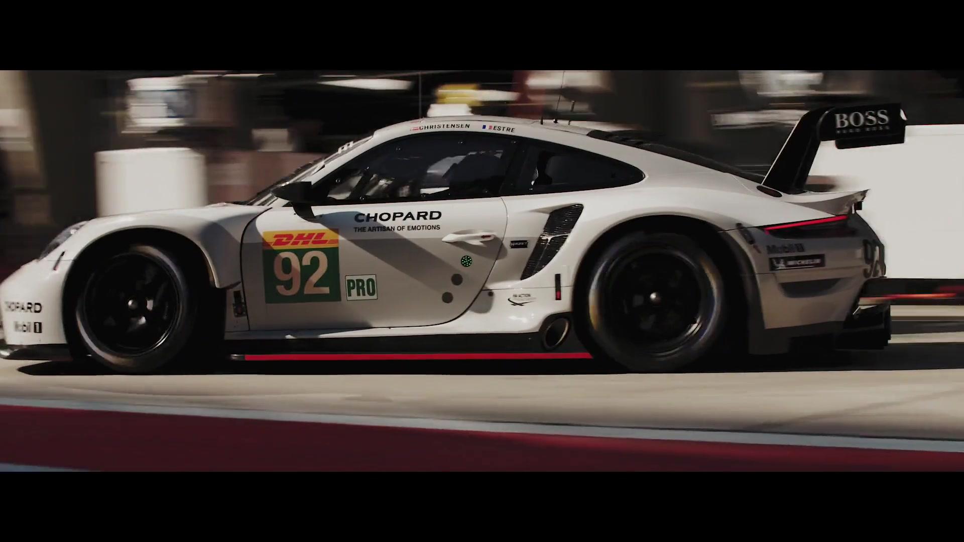 Porsche – Porsche pole position party