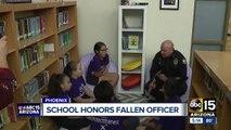 School honors fallen officer