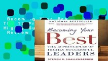 Becoming Your Best: The 12 Principles of Highly Successful Leaders  Review