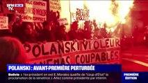 """L'une des avant-premières de """"J'accuse"""" de Polanski annulée après une manifestation féministe"""