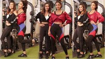 Shilpa Shetty and Sophie Choudry snapped on sets of 'Work It Up'