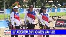 National archery team, sisipat ng ginto sa Asian Championships