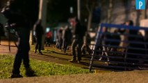 Précarité étudiante : des manifestants forcent la grille du ministère de l'Enseignement supérieur