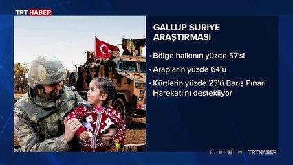 Gallup araştırmasına göre Suriyelilerin Türkiye'ye güveni tam