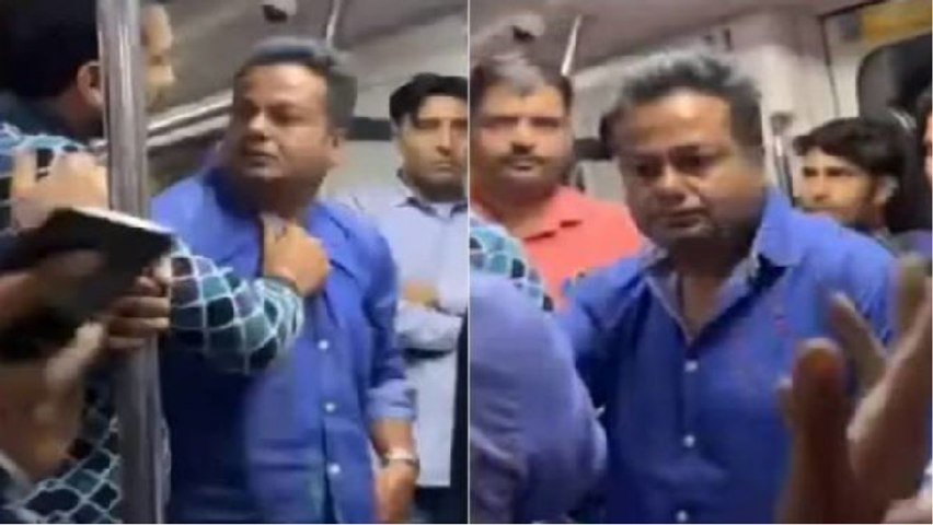 Deepak Kalal slapped yet again by woman in Delhi metro