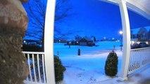 Un météore spectaculaire filmé par la caméra d'un couple