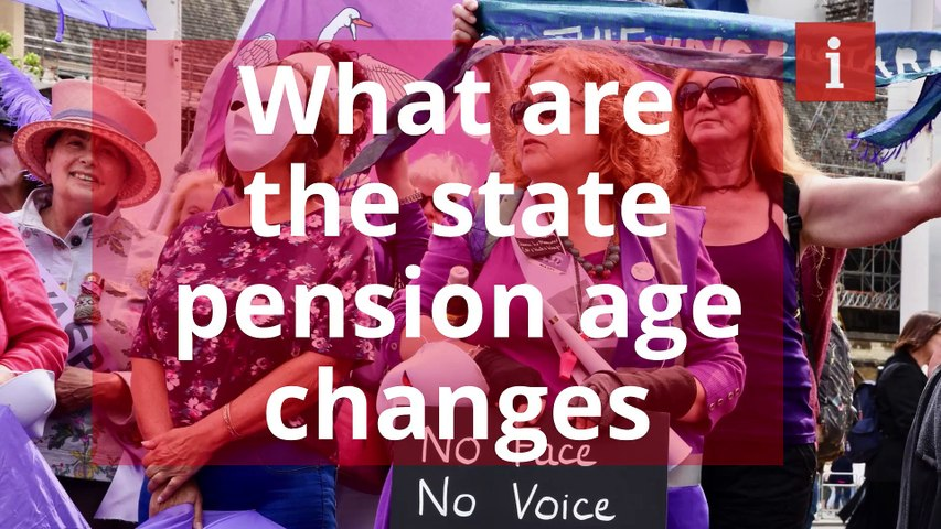 What are the state pension age changes