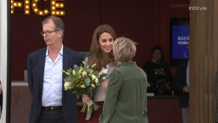 Kate Middleton Almost Took A Royal Fall, But Laughed It Off