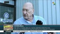 Hondureños también se pronuncian contra golpe de Estado en Bolivia