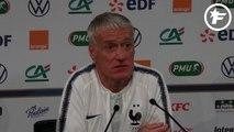 Didier Deschamps se réjouit de l'ambiance du Stade de France