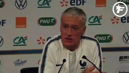 EdF : Didier Deschamps est satisfait d'avoir Corentin Tolisso