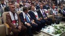 """Konya'da """"Kudüs için ayaktayız Filistin için buradayız"""" toplantısı"""