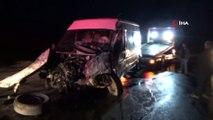 Yüksekova'da zincirleme kaza; 7 yaralı
