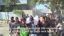 Frappes israéliennes, roquettes palestiniennes: la spirale de la violence est de retour