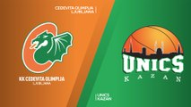 Cedevita Olimpija Ljubljana - UNICS Kazan Highlights | 7DAYS EuroCup, RS Round 7