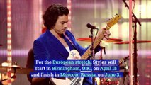 Harry Styles Announces 'Love on Tour'