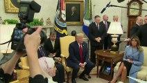 """Trump reçoit son """"ami"""" Erdogan à la Maison Blanche"""