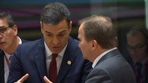 Sánchez transmite a May su confianza en avanzar en un acuerdo común en torno al Brexit y Gibraltar en un clima constructivo