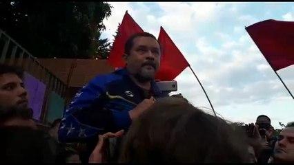 Entrevista do representante do governo Maduro, Freddy Meregote