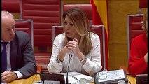 Susana Díaz acusa al PP de citarla como candidata y no como presidenta