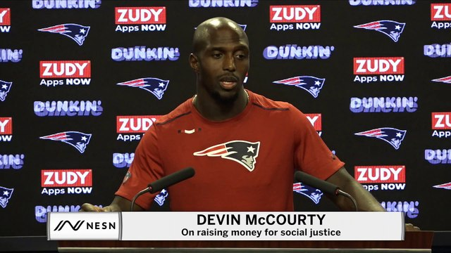 Devin McCourty, Patriots Raise $450,000 For Social Justice Fund