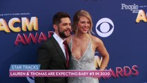Lauren Akins Shows Off Baby Bump on Red Carpet During Date Night with Husband Thomas Rhett