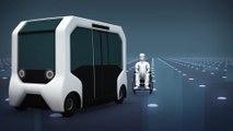 Toyota unveils autonomous bus for 2020 Olympics