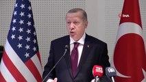 """Cumhurbaşkanı Erdoğan: """"Suriye sınırdan terör devleti kurulmasına asla izin vermeyeceğiz"""""""