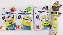 Minions Popping Candy Lollipops-
