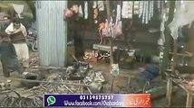 Charsadda: Harichand Bazar ma Dokan ma cylender ka Dhamaka, Lakon ka Nuqsan.