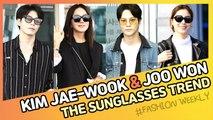 [Showbiz Korea] Kim Sung-ryung(김성령) & Joo Won(주원)! Celebrities' the Sunglasses Trend