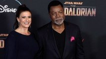 "Carl Weathers, Christine Kludjian ""The Mandalorian"" Premiere Red Carpet"