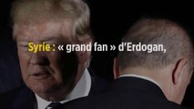 Syrie : « grand fan » d'Erdogan, Donald Trump reste évasif