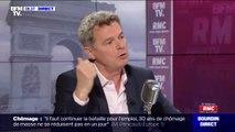 """Le secrétaire national du PCF Fabien Roussel estime que """"l'hôpital est malade"""""""