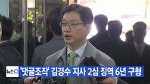 [YTN 실시간뉴스] '댓글조작' 김경수 지사 2심 징역 6년 구형 / YTN
