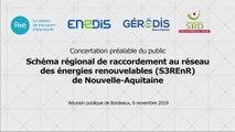 S3REnR Nouvelle-Aquitaine – 6 novembre 2019 – Intervention de RTE