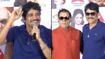 Akkineni Nagarjuna Press Meet On ANR Awards