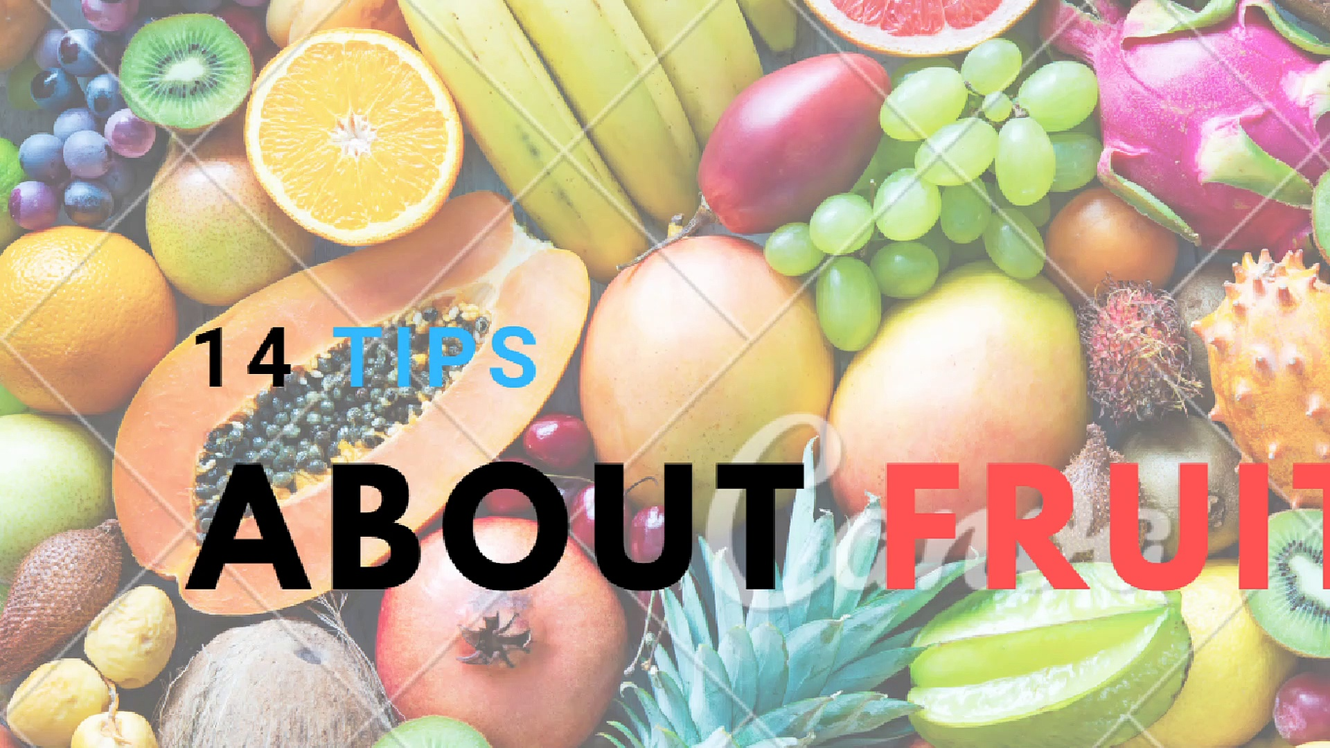13 tips for creating ideas about fruit (S1)